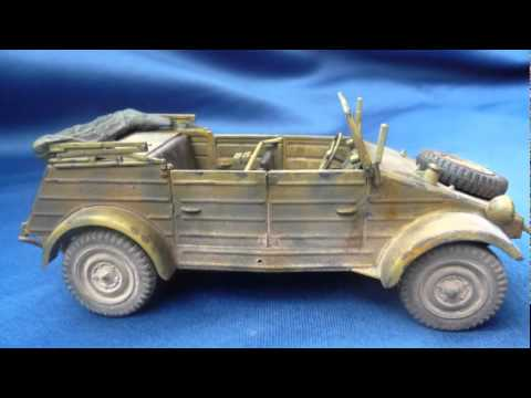 Tamiya Kübelwagen Type 82 in 1/35 scale