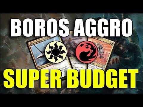 Budget Boros Aggro - MTG Arena ITA - смотреть онлайн на Hah Life