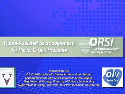 Robot-Assisted Sacrocolpopexy for Pelvic Organ Prolapse
