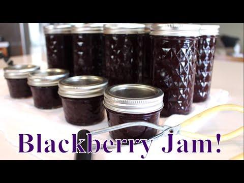 Canning BlackBerry Plum Pepper Jam~Linda's Pantry~