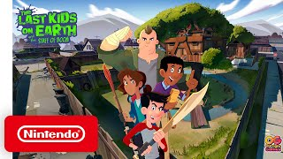 Nintendo The Last Kids on Earth and The Staff of Doom - Announcement Trailer anuncio
