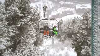 preview picture of video 'New Year's Snowfall Soldeu 2013'