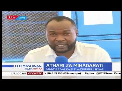 Athari za mihadharati: Waathiriwa kwale washughulikiwa