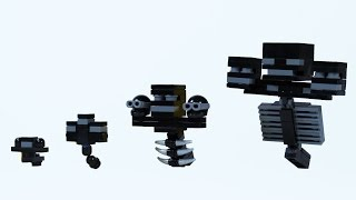 How To Build LEGO Minecraft Wither