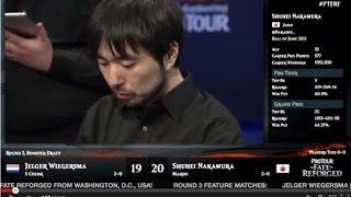 Pro Tour Fate Reforged Round 3 (Draft): Shuhei Nakamura vs. Jelger Wiegersma