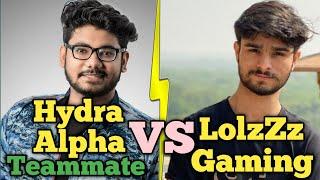 Hydra Alpha Teammate Nimrod Gaming Vs LoLzZz Gaming Fight in Novo @Hind gaming | Pubg emulator