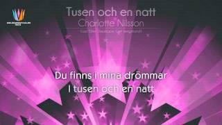 """[1999] Charlotte Nilsson - """"Tusen och en natt"""""""