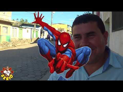 Jeremias zoio de Vidro fala sobre o Asfalto para a principal Rua do Distrito dos Barnabés Rua Antonio Soares Godinho