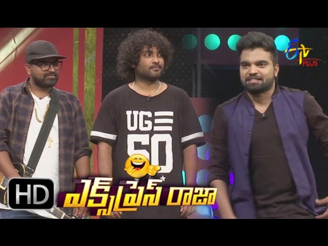 Express Raja – 21st March 2017 – Full Episode | ETV Plus Game Show