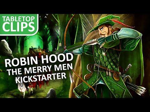 Robin Hood & The Merry Men Kickstarter