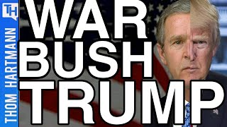 Trump's War Crimes Owe Debt To War Crimes Of George Bush