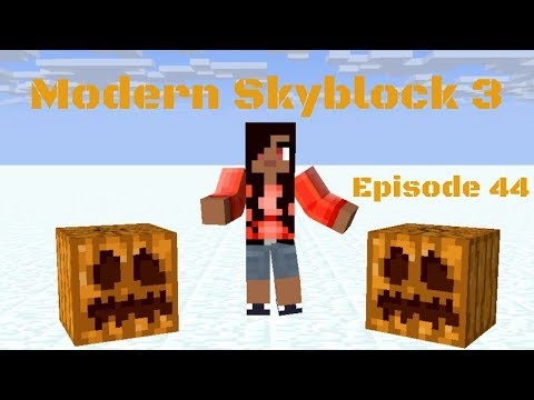 Cactus, Life Infusion, and Grass (Modern Skyblock 3 Departed Let's