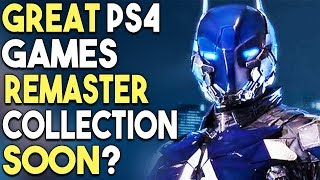 Great PS4 Games Remaster Collection Soon? New PS4 Action RPG Revealed!