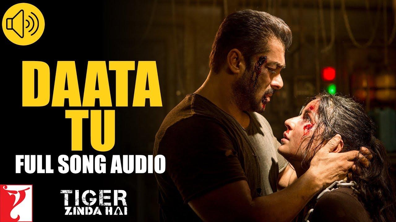 Audio: Daata Tu | Tiger Zinda Hai | Shreya Ghoshal | Vishal and Shekhar|  Shreya Ghoshal Lyrics