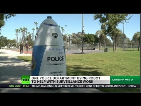 Actual police robot unveiled in California