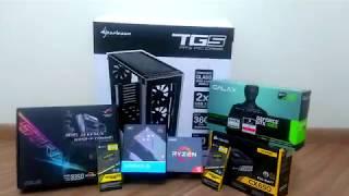 Building AMD Ryzen 5 1600x + ROG STRIX B350-F