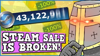 Steam Summer Sale IS BROKEN Steam Sale Is A Perfectly Balanced Game With No Exploits Infinite Points
