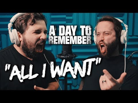 A DAY TO REMEMBER - All I Want (Caleb Hyles And Jonathan Young) - Metal Cover - Caleb Hyles