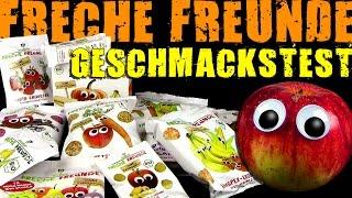 Erdbär ® Freche Freunde - Bio Snacks - Geschmackstest