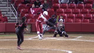 Danielle Gibson Hits For The Home Run Cycle