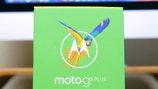 Motorola Moto G5 Plus Unboxing and First Look