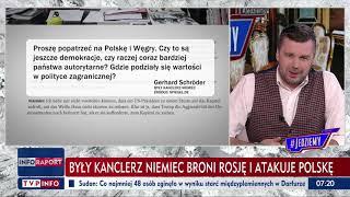 TVP Jedziemy Donald Tusk chwali Niemców po niemiecku