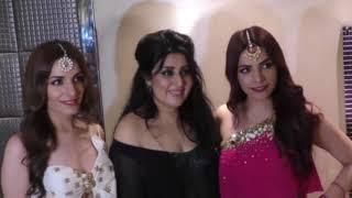 Esha Gupta, Madhurima Tuli, Gia Manek, Neha Kaul, Anurita Jha, Chandani Bhagwani, Priyamvada, Prithvi Hatte came for Mrs/Miss Bharat Icon Pageant at Sahara Star, Mumbai