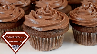 moist chocolate cupcakes with cream cheese frosting