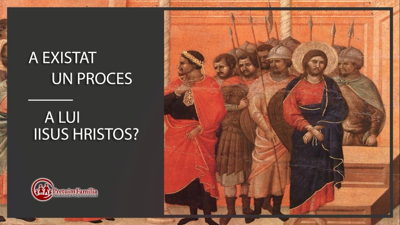 Procesul lui Iisus din trecut şi de azi (promo)
