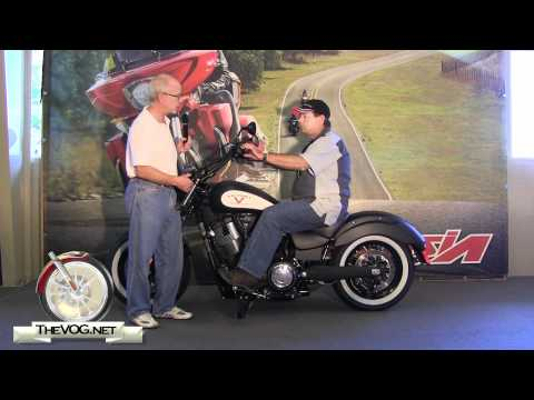 Victory Motorcycles: Cruiser Riding Position Comparison – Victory Judge, Cross Roads and High-Ball