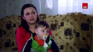 Син Марії Кушнір народився із викрученими ручками та голівкою