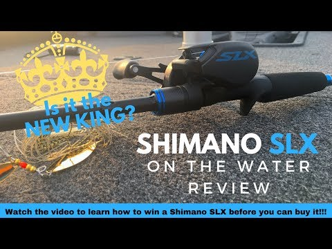 Shimano SLX Reel and Rod Review and Giveaway