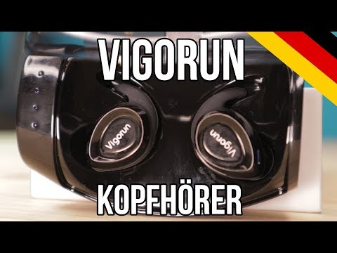 Bluetooth Kopfhörer Vigorun Kabellos In-Ear Ohrhörer Bluetooth V4.2 Sport Earphones Ladestation