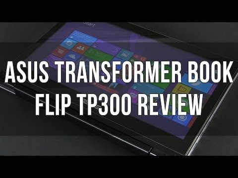 Asus Transformer Book Flip TP300L / TP 300 review