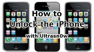 How To Unlock iPhone 3Gs/3G 4.2.1/4.1 Using Ultrasn0w [HD] 2013 - FREE
