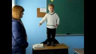 2012 - Alex Kotelnikov is 4 - Russian School - Kolobok