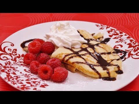 Crepes Recipe: How to Make Crepes: With Nutella! Easy Recipe: Diane Kometa: Dishin With Di  # 160