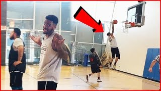Juice Takes Flight For The Dunk! Guess What Happens Next! (Juice Hoops Ep.7)