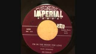 FATS DOMINO  I'M IN THE MOOD FOR LOVE