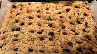 In The Oven Homemade Olive Bread Real Food Or No Food #Baking #Tradition #Diet