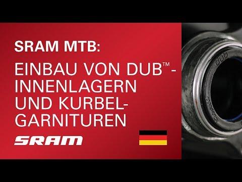 SRAM MTB: Einbau von DUB-Innenlagern und Kurbelgarnituren