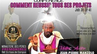 """Conférence Spirituelle """" Comment réussir tous ses projets """" le 31 déc 2016 au Monastère des Pères"""