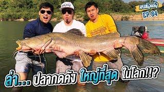 ล่า..ปลากดคัง ใหญ่ที่สุด ในโลก!!? [หัวครัวทัวร์ริ่ง] EP.84