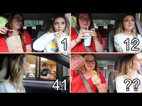 Driving Through The SAME McDonald's Drive Thru 100 TIMES!
