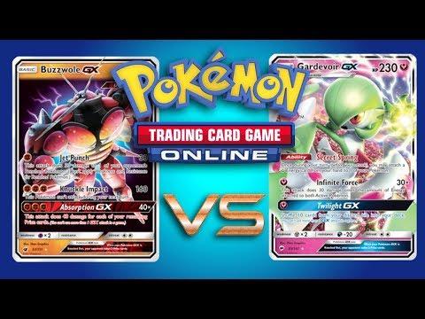 Buzzwole GX / Garbodor vs Gardevoir GX – Pokemon TCG Online Gameplay