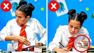 BACK TO SCHOOL || 35 GENIUS SCHOOL TIPS TO MAKE STUDYING MORE FUN