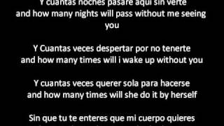 Kumbia Kings-Insomnio Letra/Lyrics English and Spanish