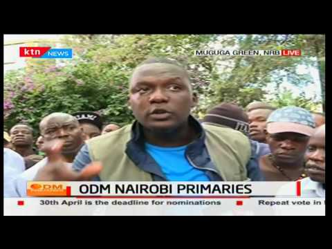 Confusion in Muguga Green Nairobi as voters are being denied to vote