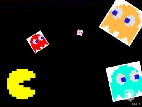 the ghosts story from Pac- man