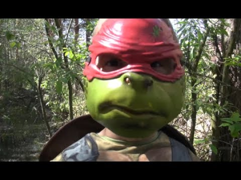 Raphael Ninja Turtle Costume For Kids Video Review